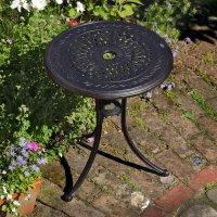 ELLA Bistro Tisch - Antik Bronze