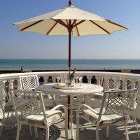 ALICE Tisch - Weiß (6 Personen Set)