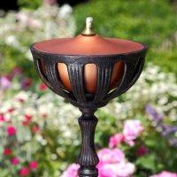 Gartenflamme - Antik Bronze