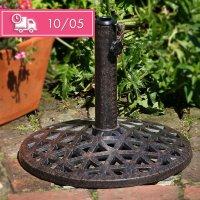 Sonnenschirmständer - Antik Bronze