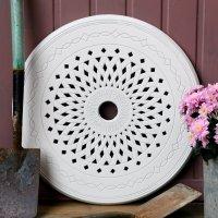 LAZY SUSAN Drehplatte modern 60 cm - Weiß