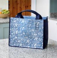 Einkaufstasche Gartenvögel - Blau
