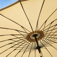 Sonnenschirm 2.7 m - Beige