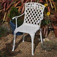 ROSE Stuhl - Weiß