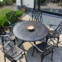 AMY Tisch - Antik Bronze (6 Personen Set)