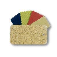 Stoff- und Metallmusterset - Sandstein