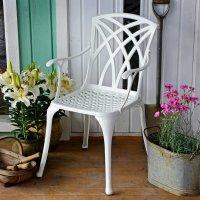 APRIL Stuhl - Weiß